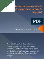 Metodospreservacionmicroorganismos