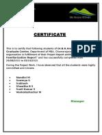 Malai Certificate
