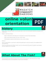wcg - online volunteer orientation2 0