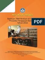 Juknis Bantuan Rintisan TBM