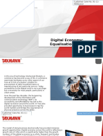 Digital Economy Equalisation Levy