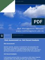 5 Job Hazard Analysis