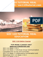 SOC 110 TUTORIAL Real Education - Soc110tutorial.com