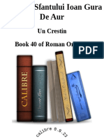 Acatistul Sfantului Ioan Gura de Aur - Un Crestin