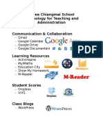 Technology for Teaching & Administration