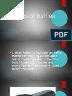 Types of Baffle