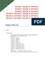 Sagas Marvel - Lista de Conteúdo