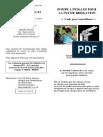 Pompe a Pedales Pour La Petite Irrigation_madagascar[1]
