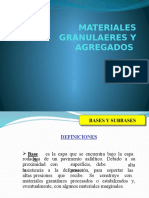 Materiales Granulaeres y Agregados