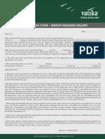 Vatika CALL 9958959555  Application form - Turning Point.pdf