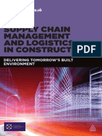 Supply Chain Management and Logistics in Construction Sample Chapter