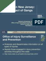 NJ Gang Related Homicides