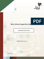 ADEC Al Rawafed Private School 2013 2014