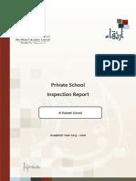 ADEC Al Rabeeh Private School 2015 2016