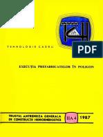 Executia Prefabricatelor in Poligon