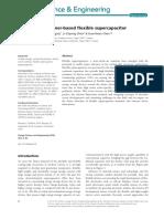 Conducting Polymer-based Flexible Supercapacitor, Nov 2014