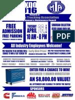 Tech Expo Flyer 2016