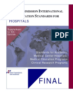 Jci_acreditation Standards for Hospitals