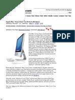 IMac _Core 2 Duo_ 2.4 24-Inch (Al) Specs (Mid-2007 - 24_, MA878LL, IMac7,1, A1225, 2134) @ EveryMac