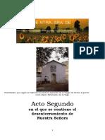 AUTOS DE Ntra. Sra. DE GRACIA de Caudete y Paracuellos. Acto II (2) (transcripción de 2013)
