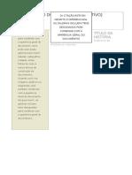 Modelo de Jornal Do Word