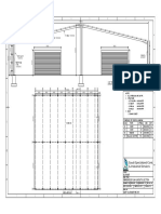 Warehouse Plan Layout & Section...