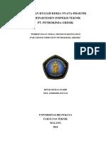 Laporan PKL (KKN-P) Di PT. Petrokimia Gresik