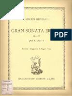 Sonata Eroica. Mauro Giuliani