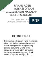 Peranan Agen Sosialisasi Dalam Penyelesaian Masalah Buli Di Malaysia