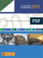 Estrategia Universidad 2015