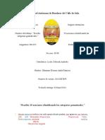 2do. Redaccion - 20 Oraciones de Las Categorias Gramaticales.