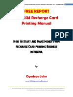 FREEREPORT-TheGSMRechargeCardPrintingManual