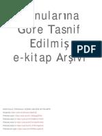E-BOOK LIST (sınırsız)