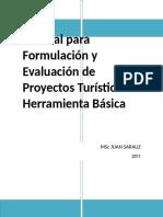 Manual Para Formulacion Y Evaluacion de Proyectos Turisticos