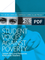 Student Voices Against Poverty