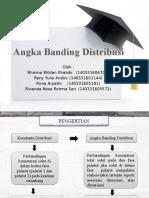 4 Angka Banding Distribusi