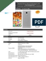 M5100 Plus - 5.2 Inch 4G OEM Smartphone 3GB RAM + 16GB ROM