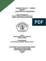 Referat Radial Nerve Palsy / Drop Hand - M. Satya Bhisma