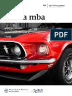 Informator 2016 - studia MBA - Wyższa Szkoła Bankowa we Wrocławiu.pdf