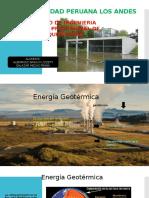 Acondicionamiento Energía Geotérmica