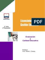 Evaluac Cal Educ Crespo 2012 Baja