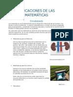 Aplicaciones de Las Matemáticas