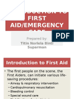 1) INTRODUCTION TO FIRST AID.pptx