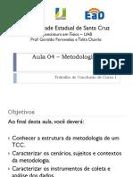 Aula 04 - Metodologia de Um TCC