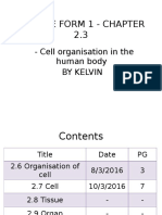 Science Form 1 - Chapter 2.3 By Kelvin