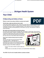 Childproofing & Safety at Home_ Your Child_ University of Michigan Health System