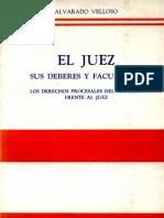 Alvarado Velloso, Adolfo - El Juez, Sus Deberes y facultades