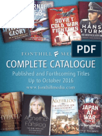 Fonthill Media Complete Catalogue 2016
