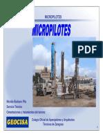 Micropilotes Geocisa