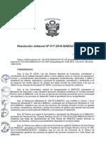 """Aprueban la """"Directiva de Control de Asistencia y Permanencia del Personal del SINEACE"""""""